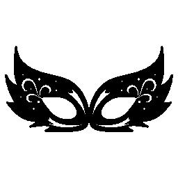 カーニバル マスク デザイン無料のアイコン