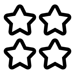4 つ星無料アイコン