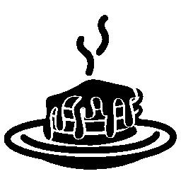 ホット ケーキ無料アイコン