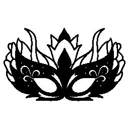 偏心カーニバル マスク デザイン無料のアイコン