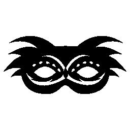 面白いカーニバル マスク無料アイコン