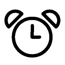 目覚まし時計の古いデザイン無料のアイコン