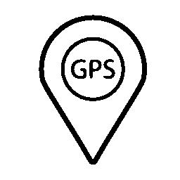 GPS 記号無料アイコン
