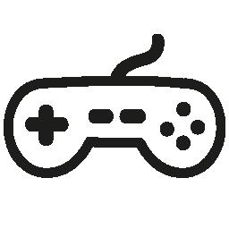 ゲーム コント ローラーの手描画ツール無料アイコン