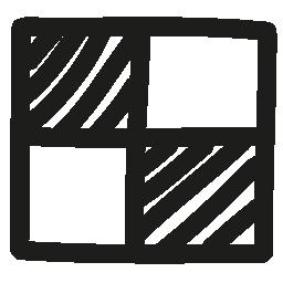 おいしい手描き下ろしロゴ無料アイコン