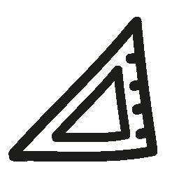 分隊手描画ツール無料アイコン