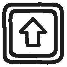 ボタン手描き下ろしシンボル無料のアイコンを