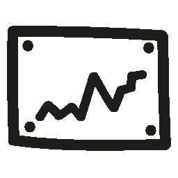 グラフィック手描き下ろしシンボル無料アイコンを監視