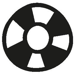 ライフガード手描画ツール無料アイコン