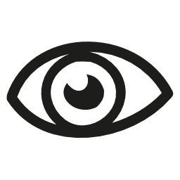 目手描き下ろしバリアント無料アイコン