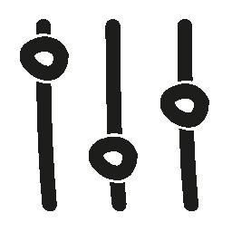 設定手描き下ろしシンボル無料アイコン