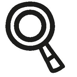 無料ベクトルのアイコンの最大のデータベース虫眼鏡手描画ツール無料アイコン
