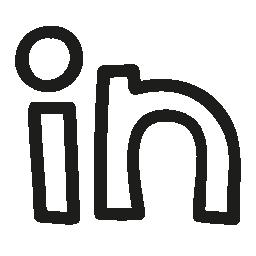 Linkedin ロゴ手描き下ろし概要無料アイコン