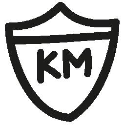 キロのルート信号手描き下ろし概要無料アイコン
