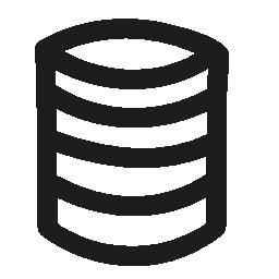 データベース手描き下ろしインタ フェース シンボル概要無料アイコン