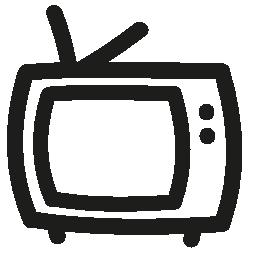 テレビ手描き下ろし概要無料アイコン