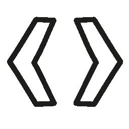 タグ手描き下ろしシンボル無料アイコン