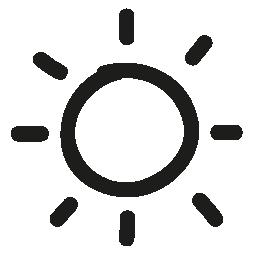 明るい手描き下ろしインタ フェース シンボル概要無料アイコン