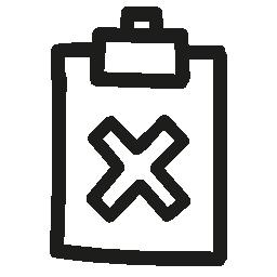 不完全な手描画シンボル無料アイコン