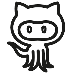Octocat 手描き下ろしロゴ概要無料アイコン