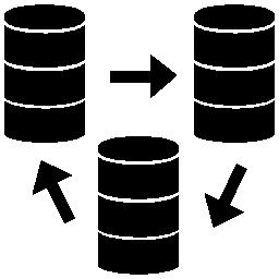 データ管理無料アイコン