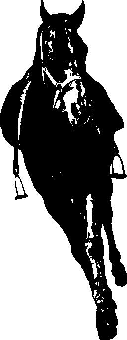 馬正面無料アイコン