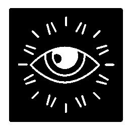 監視の目のロゴの無料アイコン
