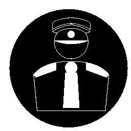 監視スタッフ無料アイコン