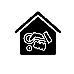 セキュリティ アラーム ボタン ツール ホーム無料アイコン
