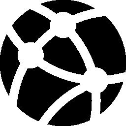ネットワーク接続の無料アイコン