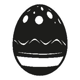 飾られたイースターエッグ無料アイコン