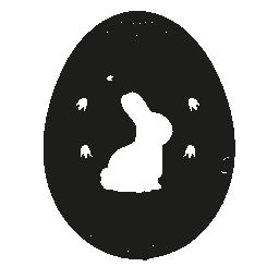 白うさぎの無料アイコンとイースターエッグ