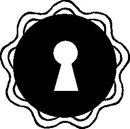 鍵穴無料アイコン