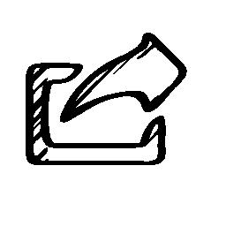 共有またはスケッチ、バリアント無料アイコンでインタ フェース シンボルのエクスポート