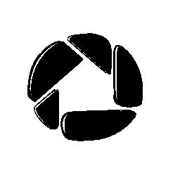 Picasa のスケッチのロゴの無料アイコン
