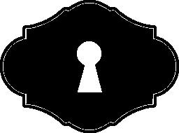 古いスタイルの無料アイコンの鍵穴