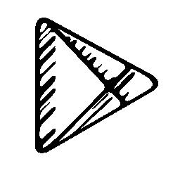 Google プレイ無料のスケッチのロゴのアイコン