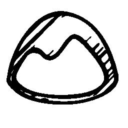 ベース キャンプのスケッチのロゴの無料アイコン