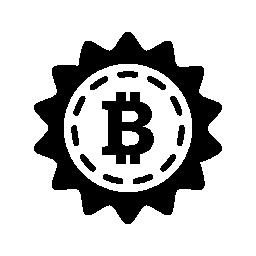 Bitcoin 割引商業シンボル無料アイコン
