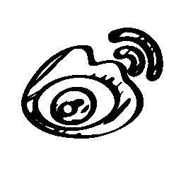 シーナ weibo スケッチのロゴの無料アイコン