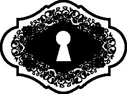 鍵穴バリアント無料アイコン