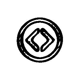 コード校シンボル スケッチ無料アイコン