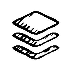 スケッチ フィード シンボル無料アイコン
