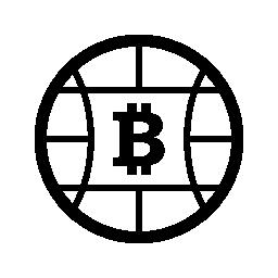 Bitcoin 世界シンボル無料アイコン