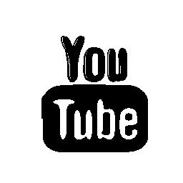 Youtube スケッチ社会ロゴ無料アイコン