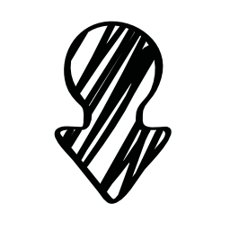 矢印図形バリアント無料アイコンのスケッチ