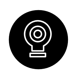 サークル無料アイコン内部ターゲット アウトライン記号