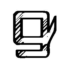 Gumroad 無料のスケッチのロゴのアイコン