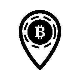 Bitcoin プレース ホルダー無料アイコン