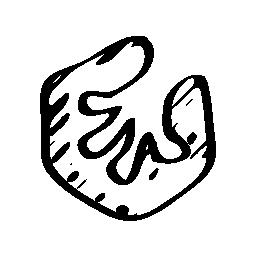樹上の家無料のスケッチのロゴのアイコン